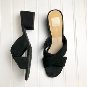 Dolce Vita Ferne Block Heel Sandal Slide